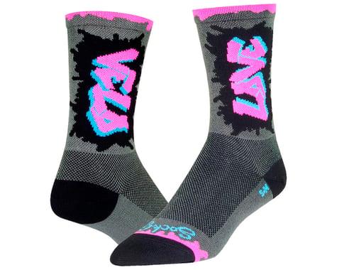 """Sockguy 6"""" Socks (Velo Luv) (L/XL)"""