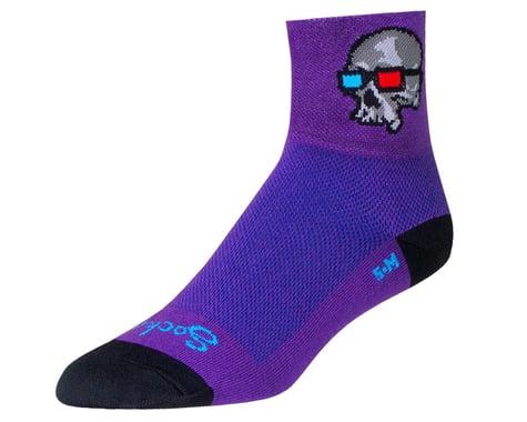 """Sockguy 3"""" Socks (Dr. 3D) (L/XL)"""