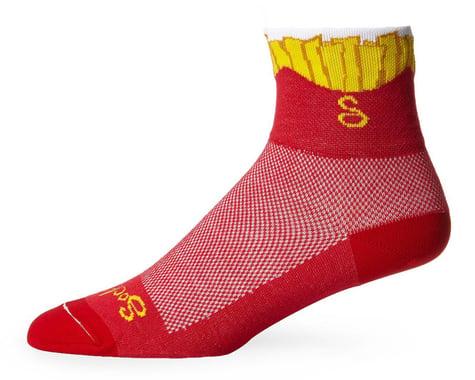 "Sockguy 3"" Socks (Fries) (S/M)"