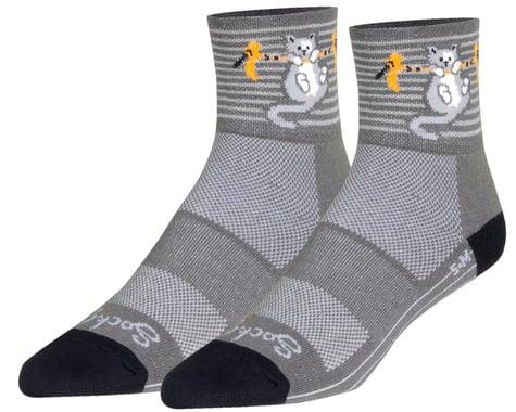 "Sockguy 3"" Socks (Hang In There) (L/XL)"