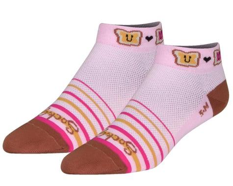 "Sockguy 1"" Socks (PB & J) (S/M)"