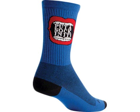 "Sockguy 6"" Socks (Pie Hole)"