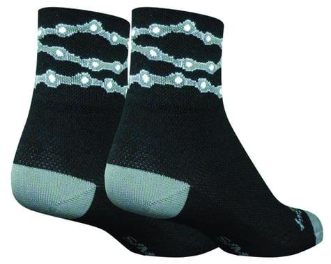"Sockguy 3"" Classic Socks (Chains) (L/XL)"