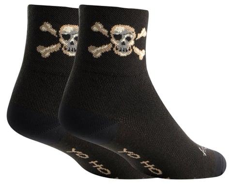 """Sockguy 3"""" Socks (Pirate) (L/XL)"""