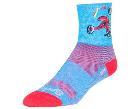"Sockguy 4"" Socks (Trike) (S/M)"