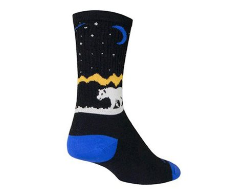 "Sockguy 6"" Wool Socks (Alaska)"