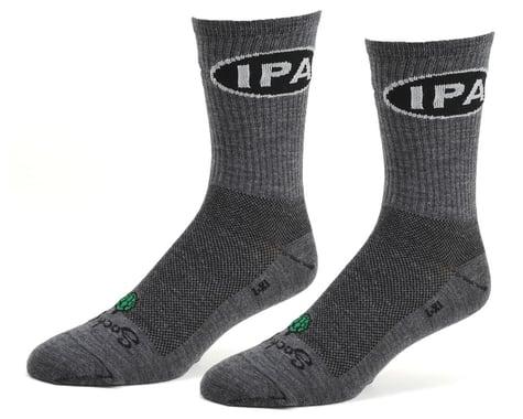 "Sockguy 6"" Wool Socks (IPA) (S/M)"