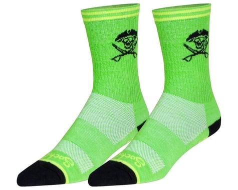 """Sockguy 6"""" Wool Socks (Arr) (S/M)"""