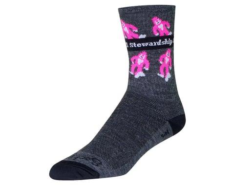 """Sockguy 6"""" Wool Socks (Sierra Buttes Trail) (L/XL)"""