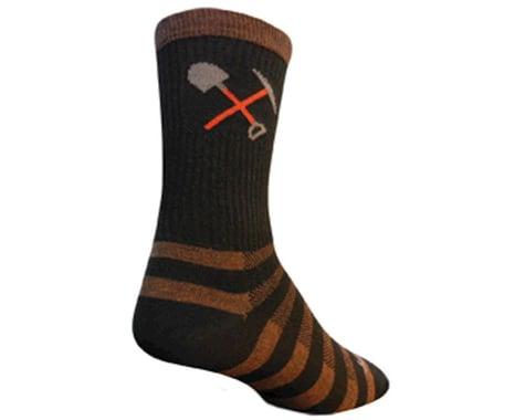 "Sockguy 6"" Wool Socks (Trail Maintenance) (S/M)"