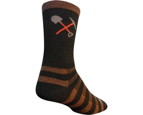 """Sockguy 6"""" Wool Socks (Trail Maintenance) (L/XL)"""
