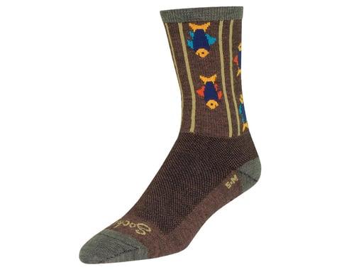 "Sockguy 6"" Wool Socks (Upstream) (S/M)"