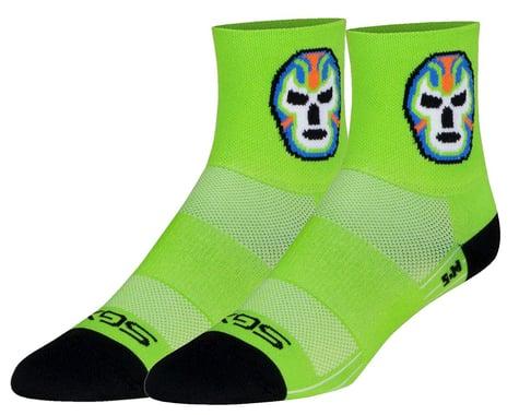"Sockguy 4"" SGX Socks (Luchador) (L/XL)"