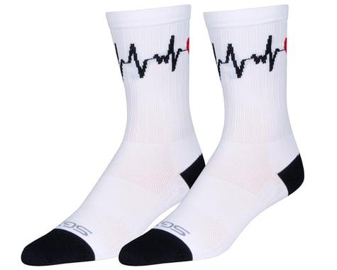 """Sockguy 6"""" SGX Socks (Beat Goes) (S/M)"""