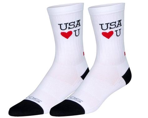 "Sockguy 6"" SGX Socks (Scrubs) (S/M)"