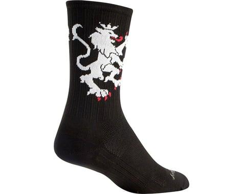 "Sockguy 6"" SGX Socks (Lion Of Flanders)"