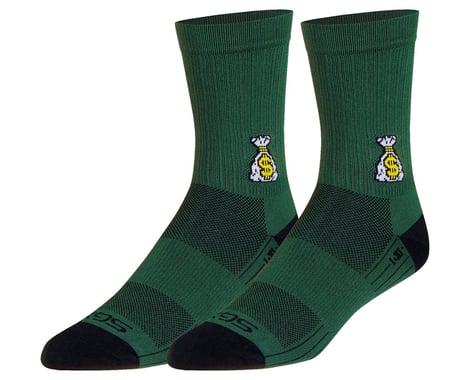 """Sockguy 6"""" SGX Socks (Money Bags) (S/M)"""