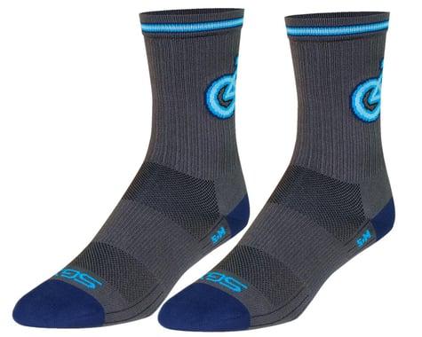 "Sockguy 6"" SGX Socks (Neon) (S/M)"