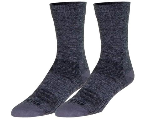 "Sockguy 6"" SGX Wool Socks (Grey) (S/M)"
