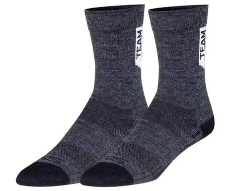 """Sockguy 6"""" SGX Wool Socks (Charcoal) (S/M)"""