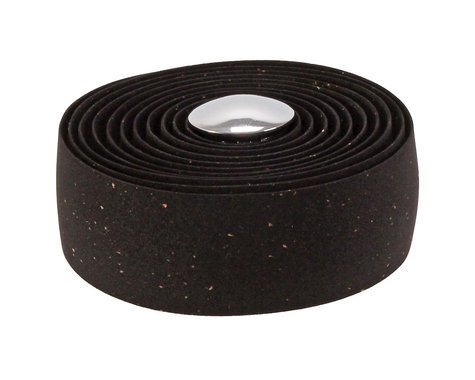 Soma Thick and Zesty Cork Bar Tape (Black)