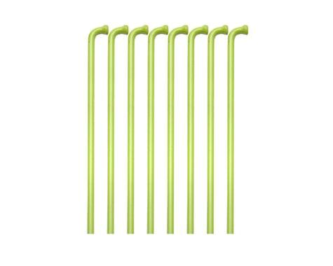 Soma Straight Gauge Spokes (Lime Green) (308mm) (36)