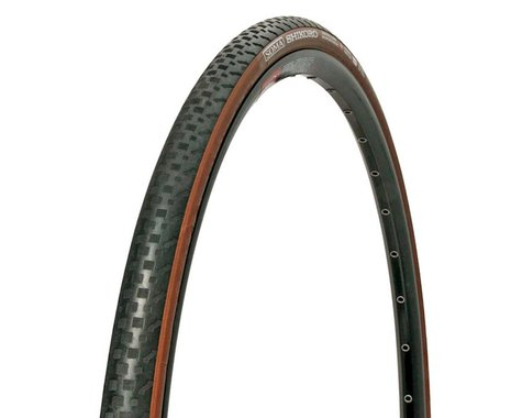 Soma Shikoro Armored Clincher Tire (Black/Brown) (700c) (42mm)