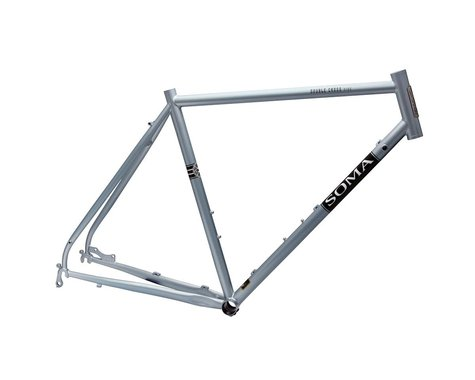 Soma Double Cross Disc Frame (Sky Silver) (56cm)