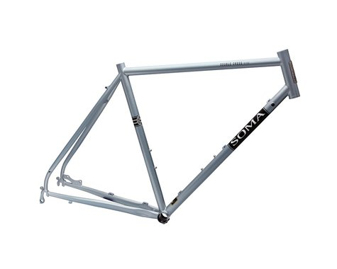 Soma Double Cross Disc Frame (Sky Silver) (58cm)