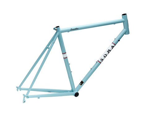 Soma Smoothie Road Frame (Blue) (52cm)