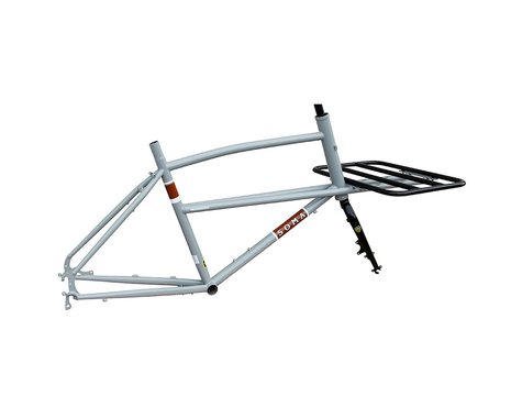 Soma Tradesman Frame/Fork (Gray) (One Size Fits Most)