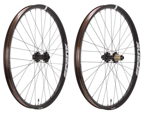 """Spank Oozy Trail 395+ 27.5"""" wheelset, 10x135+12x142, XD, blk"""