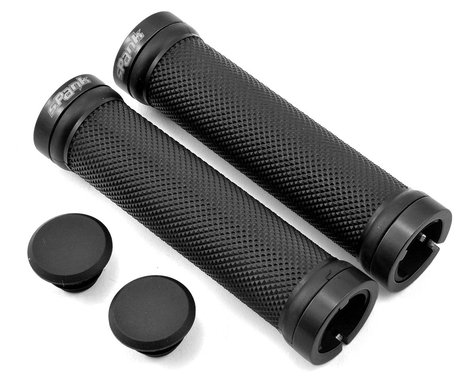 Spank Spoon Lock-On Grips (Black)