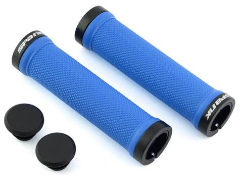 Spank Spoon Lock-On Grips (Blue)