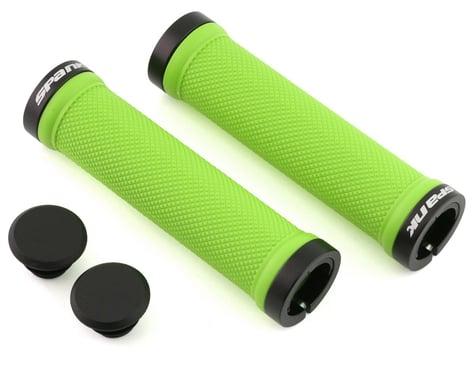 Spank Spoon Lock-On Grips (Green)