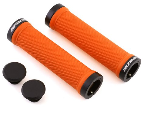 Spank Spoon Lock-On Grips (Orange)