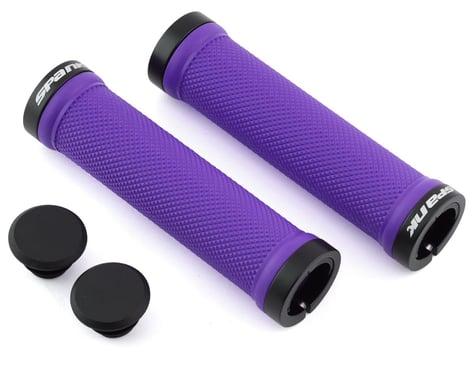 Spank Spoon Lock-On Grips (Purple)