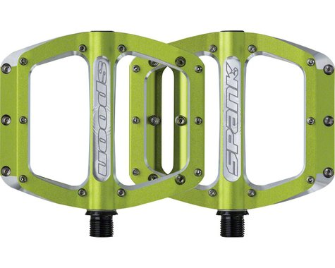 Spank Spoon Pedals (Green) (M)