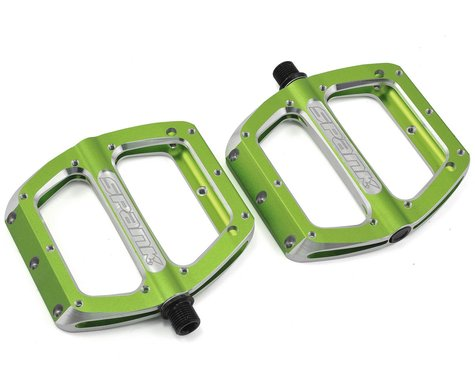 Spank Spoon Pedals (Green) (L)