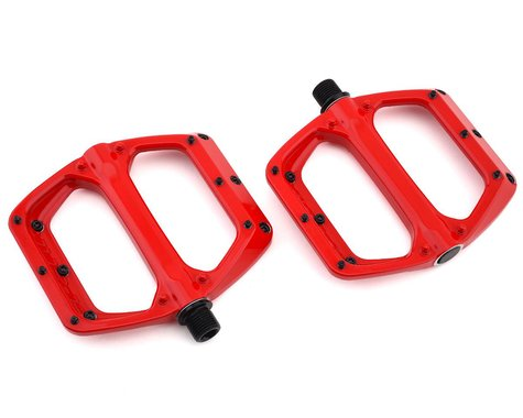 Spank Spoon DC Pedals (Red)