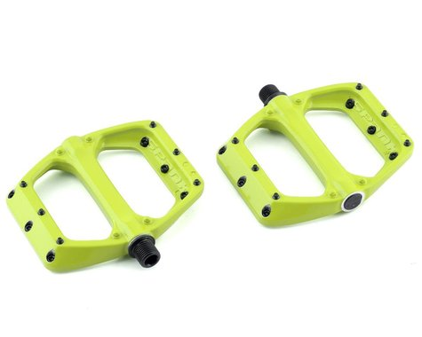 Spank Spoon DC Pedals (Lime Green)