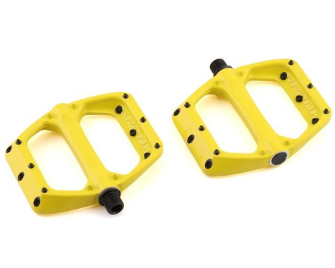 Spank Spoon DC Pedals (Yellow)