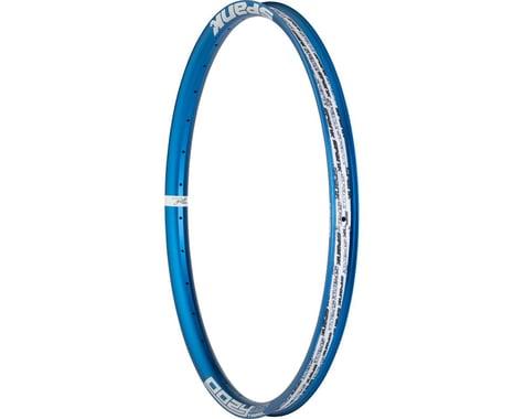 """Spank Oozy Trail 395+ Rim - 27.5"""", Disc, Blue, 32H"""