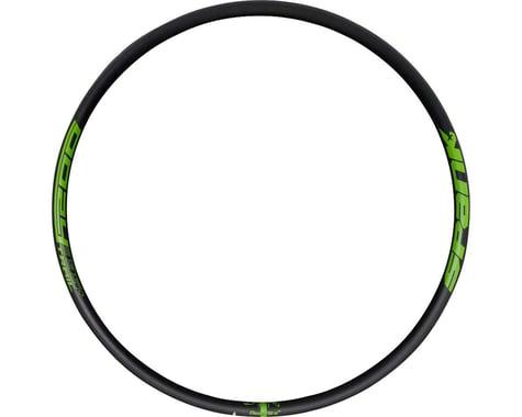 """Spank Oozy Trail 395+ Rim - 29"""", Disc, Black/Green, 32H"""