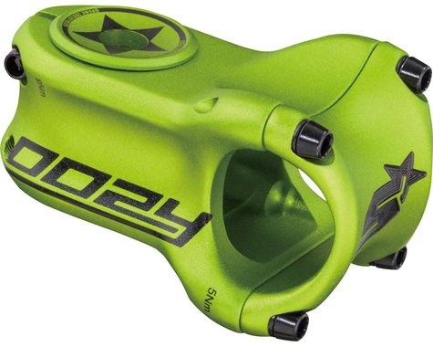 "Spank Oozy Trail Stem - 50mm, 31.8 Clamp, +/-0, 1 1/8"", Aluminum, Matte Green"