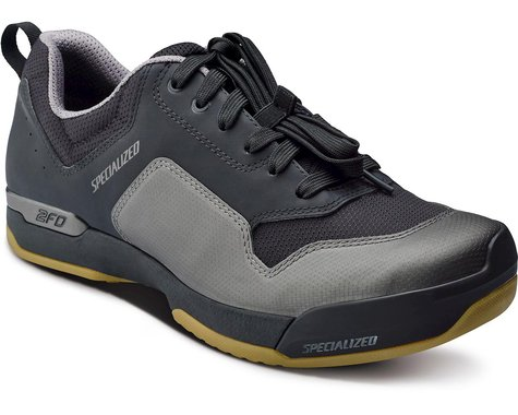 Specialized 2FO ClipLite Lace Mountain Bike Shoes (Black/Gum) (44)