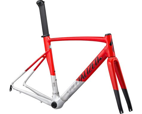 Specialized 2020 Allez Sprint Frameset (Gloss/Satin Red/Aluminum/Black) (56)