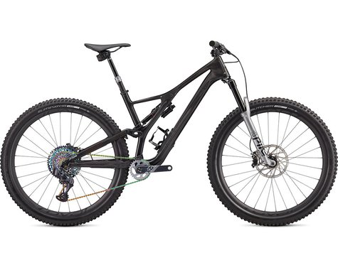 Specialized 2020 S-Works Stumpjumper SRAM AXS 29 (GLOSS CARBON / SILVER / SILVER CAMO FADE)