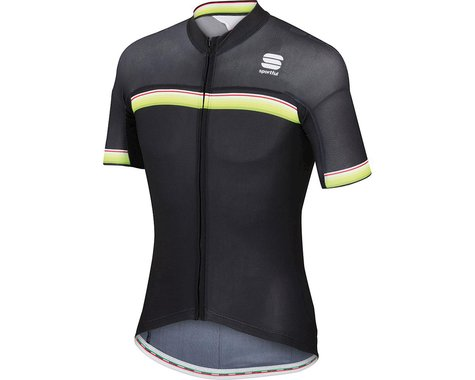 Sportful Bodyfit Pro Aero Short Sleeve Jersey (Black)