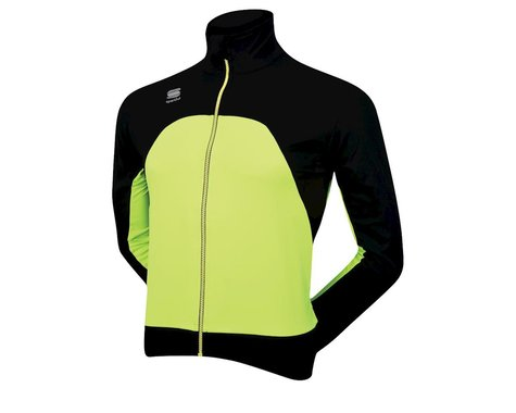 Sportful Fiandre Light Windstopper Jacket (Blk/Hi-Vis)